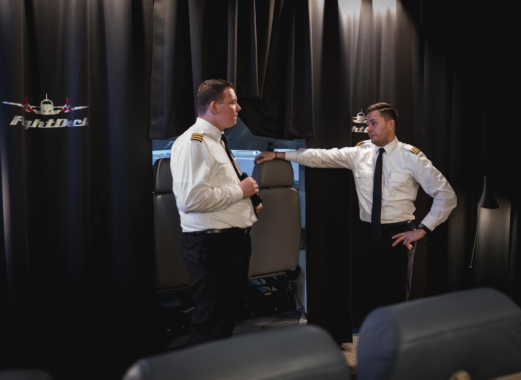 Piloten Besprechung